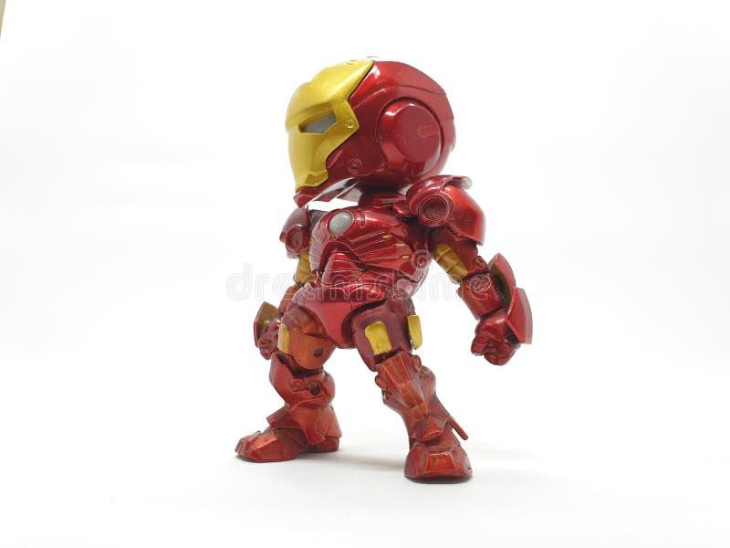 Figura D'Azione Dell'Uomo Incassato Nell'Armor 03 Di Ferro fotografia stock