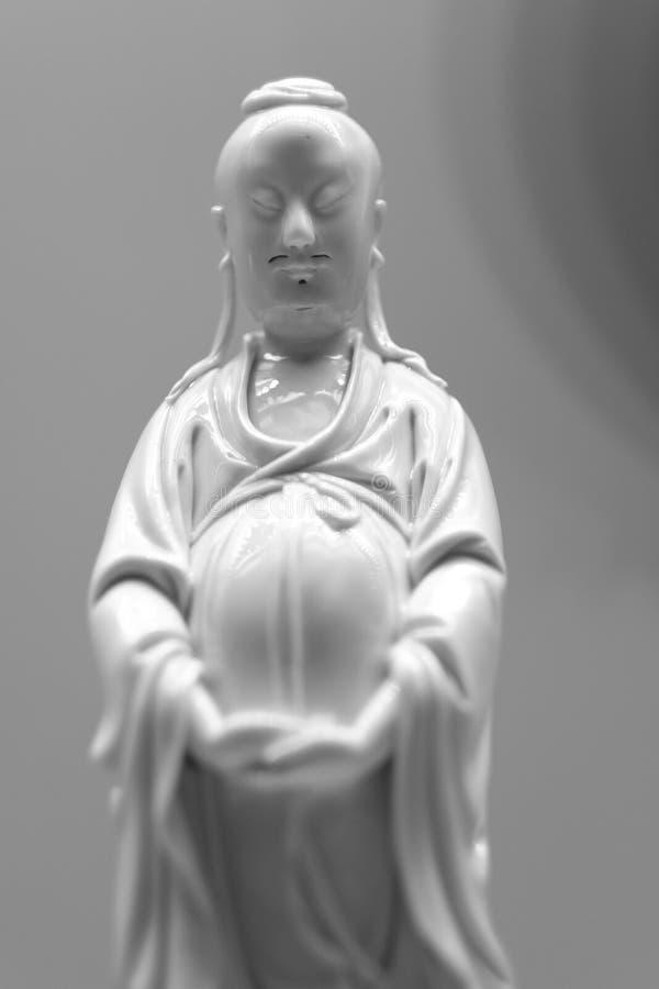 Figura da porcelana do representante da nobreza chinesa imagens de stock royalty free