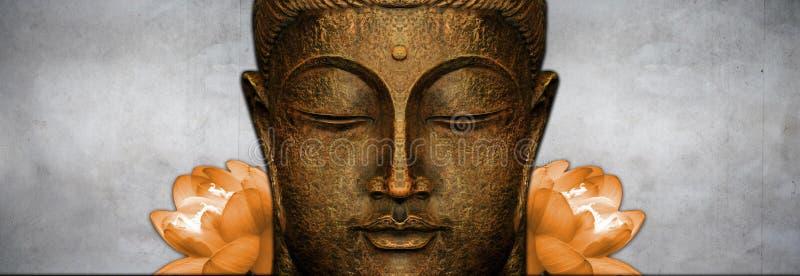 Figura de assento de Buddha