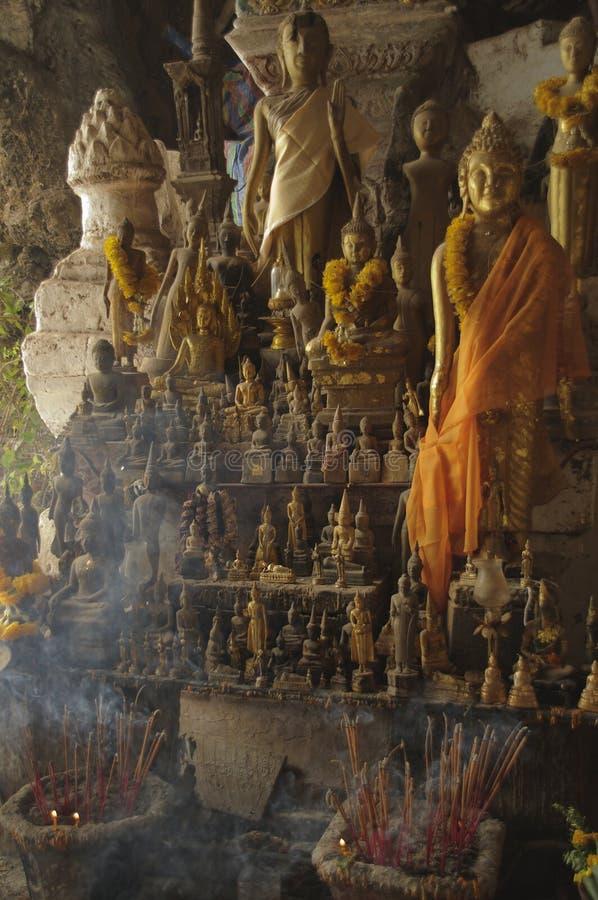 Figura de Buda fotos de archivo