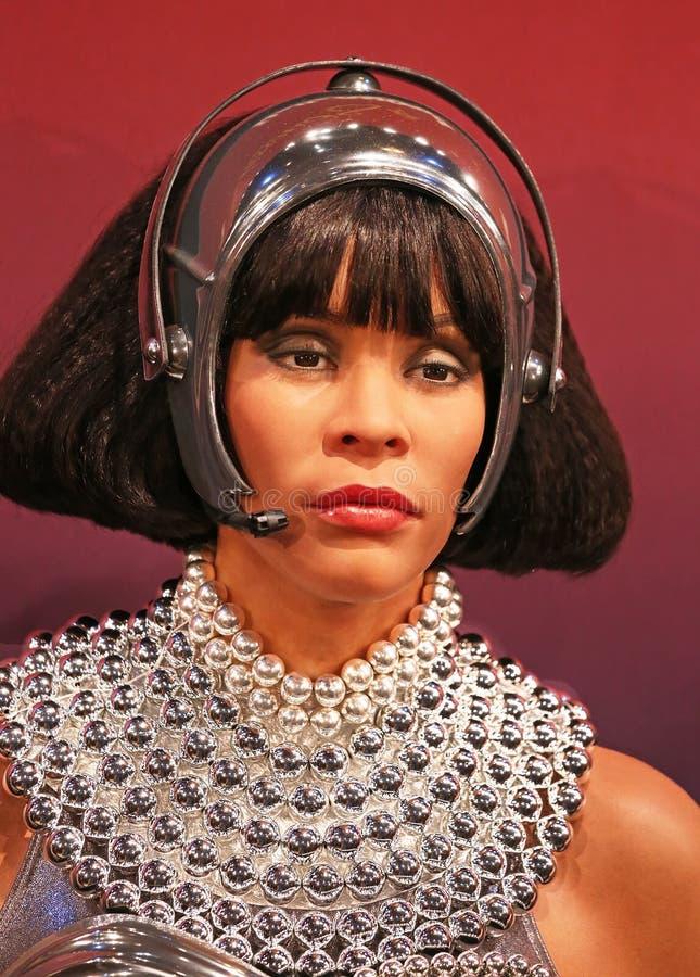 Figura de cera de Whitney Houston fotos de stock royalty free
