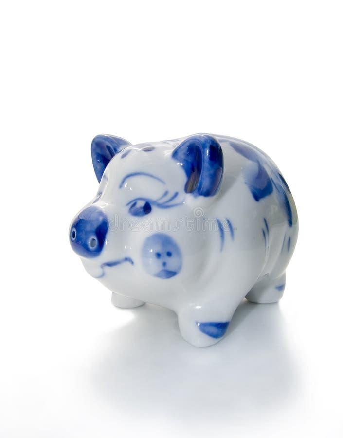 Figura de um porco. imagem de stock
