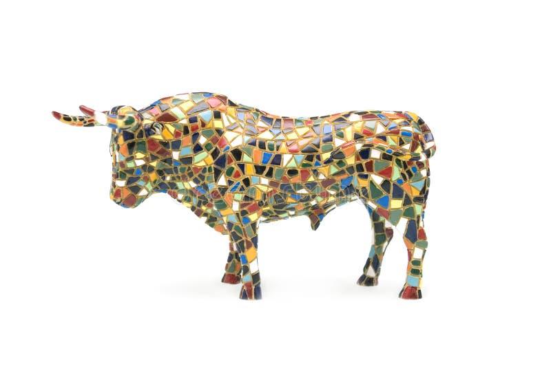 Figura de um touro imagens de stock royalty free