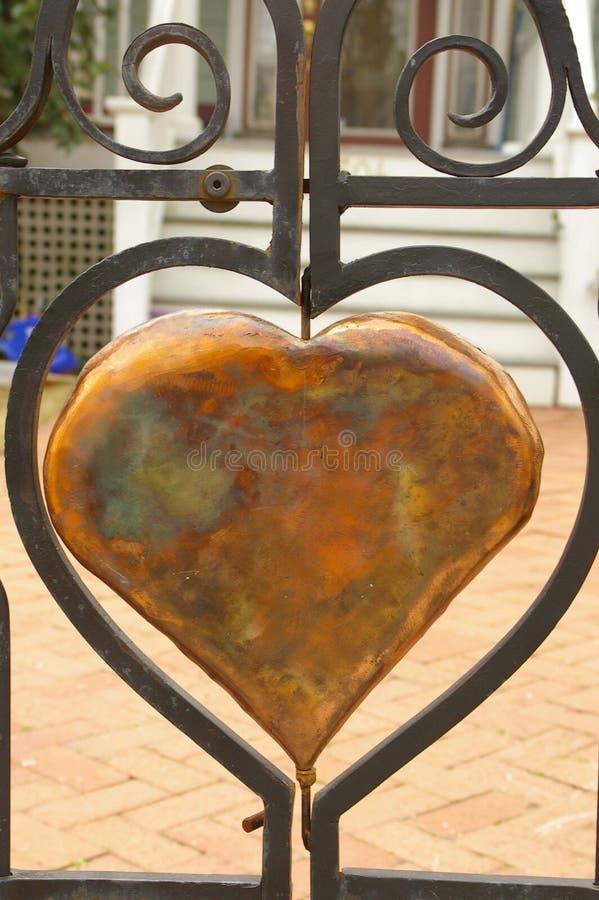 Figura del cuore fotografia stock