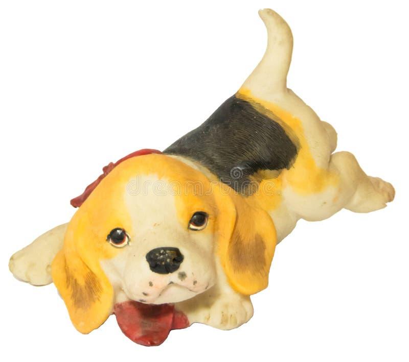 Figura del perrito fotos de archivo