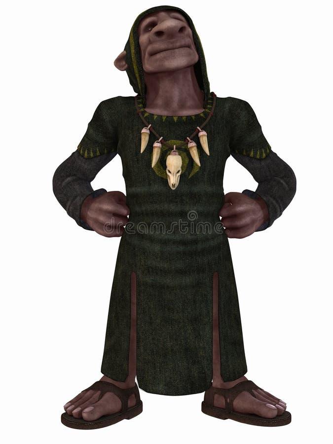 Figura di fantasia - Goblin royalty illustrazione gratis