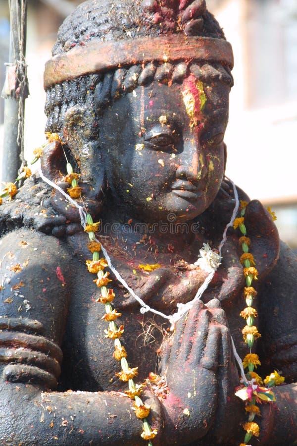 Figura di religione - Nepal fotografia stock libera da diritti