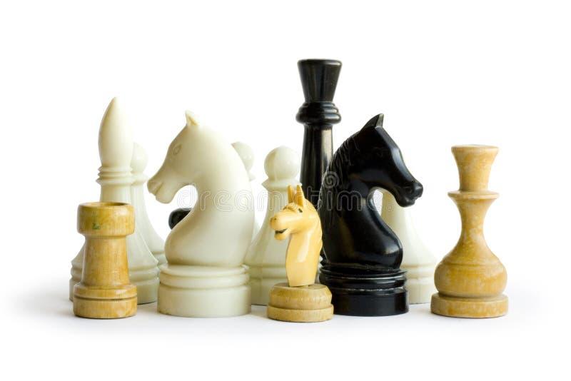 Figura di scacchi immagine stock libera da diritti