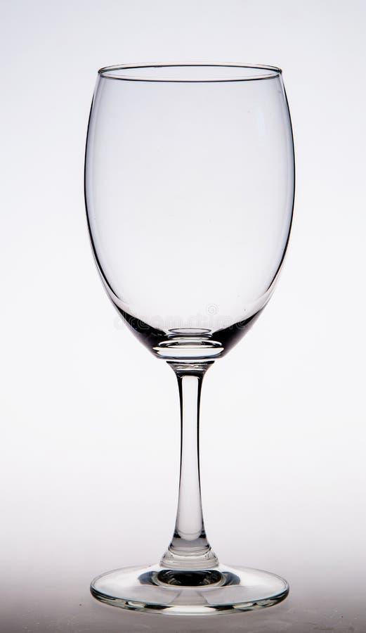 Figura di vetro trasparente del primo piano del vetro fotografia stock