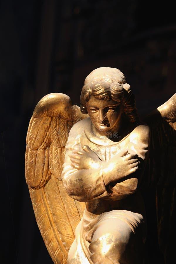 Figura do anjo foto de stock royalty free