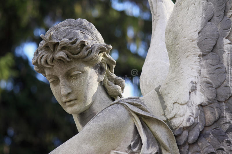 Figura do anjo imagens de stock royalty free