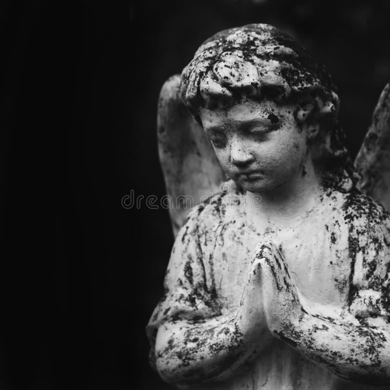 Figura do anjo fotografia de stock