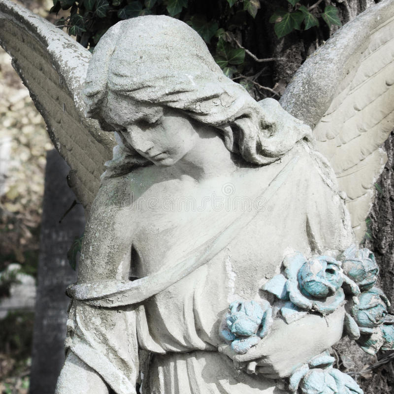 Figura do anjo imagem de stock royalty free