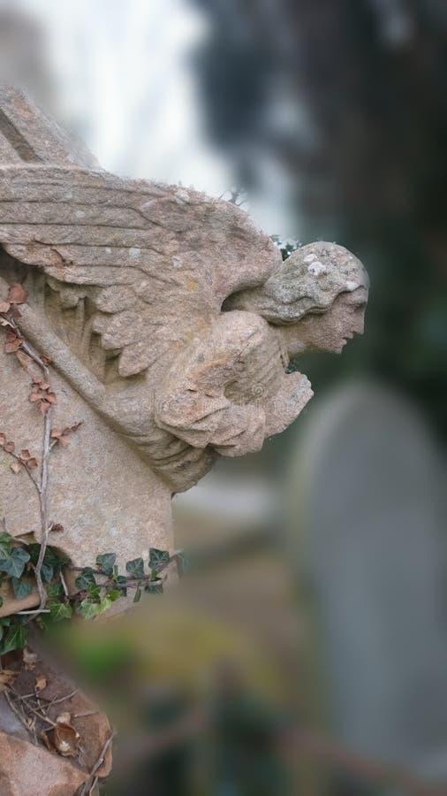 Figura do cemitério foto de stock royalty free