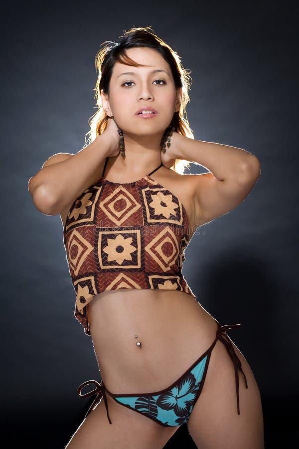 Figura do corpo de uma mulher bonita foto de stock royalty free