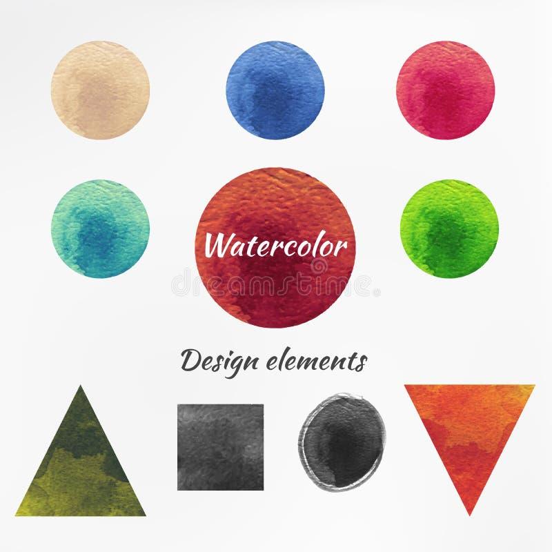 Download Figura Elementos Aislados De La Acuarela Del Diseño Del Vector Ilustración del Vector - Ilustración de alegre, modelo: 42440553
