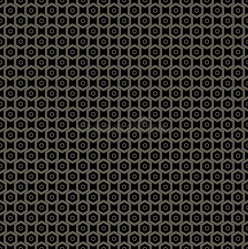 Figura geometrica linea modello senza cuciture dell'estratto Struttura grafica royalty illustrazione gratis