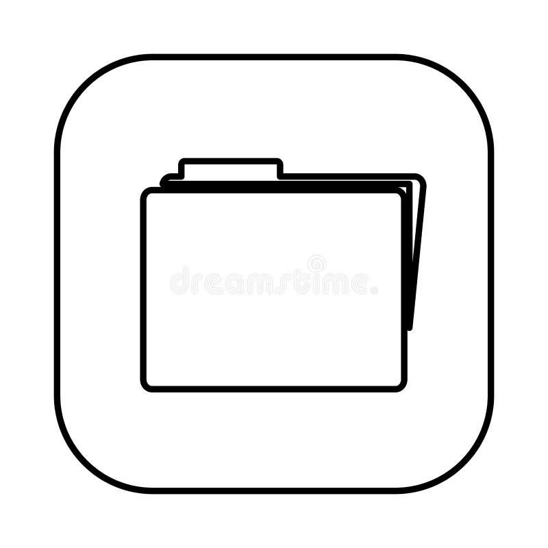 figura icono del fichero del símbolo libre illustration