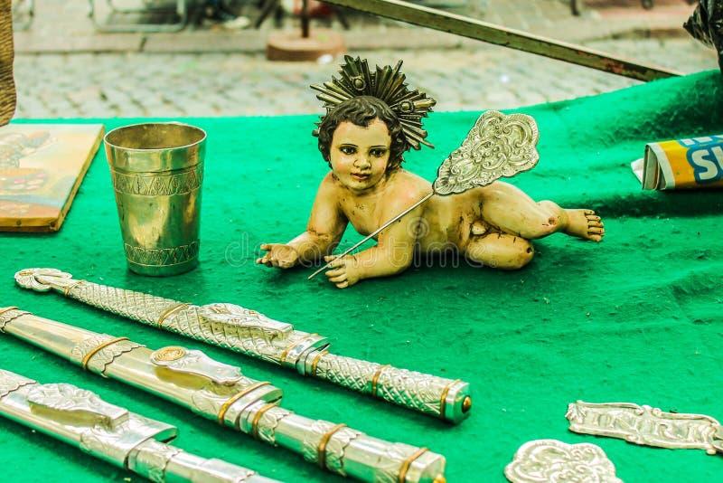 Figura Jesus Christ Objects Figurine Child fotografia stock libera da diritti