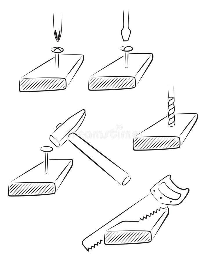 Download Operações da construção ilustração do vetor. Ilustração de estrela - 29844395