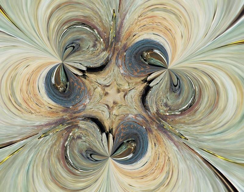 Figura multicolor abstrata. ilustração do vetor