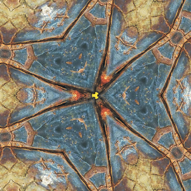 Figura multicolor abstrata com testes padrões. ilustração stock