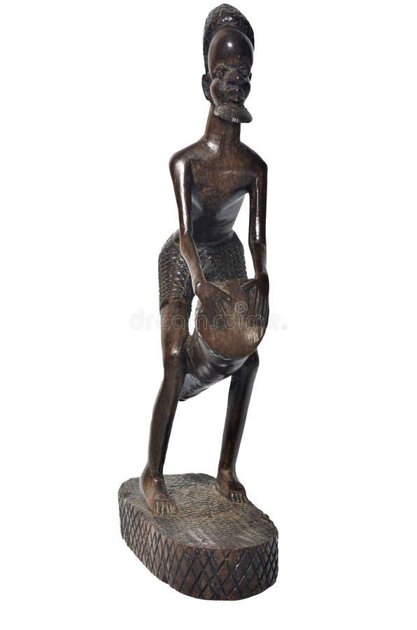 Figura musicista africano fotografie stock