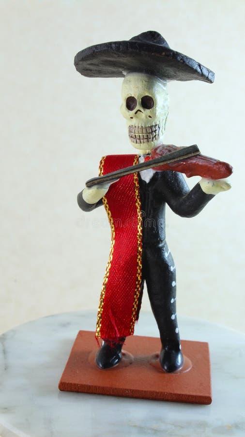 Figura representativa do dia dos mortos imagens de stock royalty free