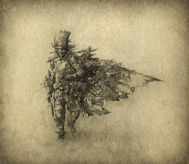 Figura surrealista foto de archivo libre de regalías