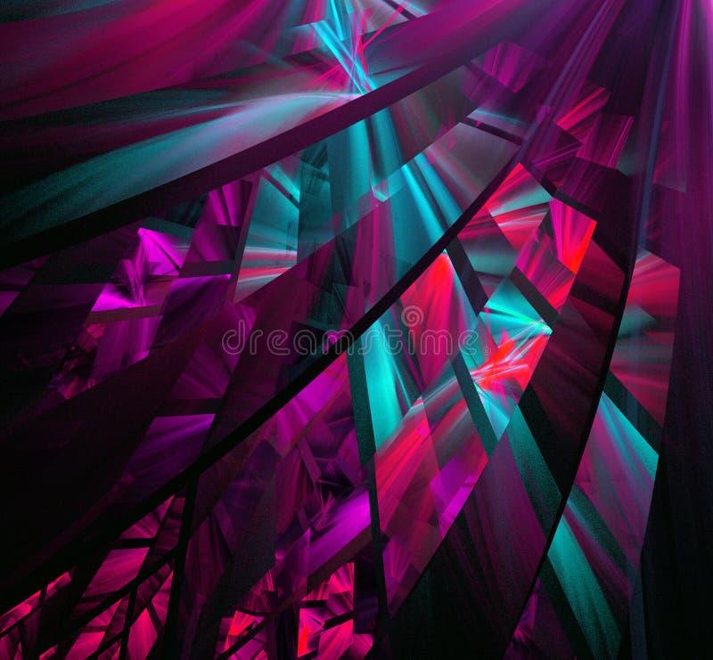 Figuras abstractas multicoloras ilustración del vector