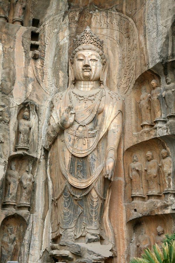 Figuras de Buddha imagens de stock