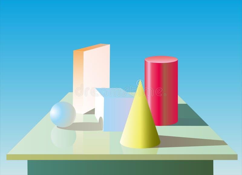 Figuras de la geometría libre illustration
