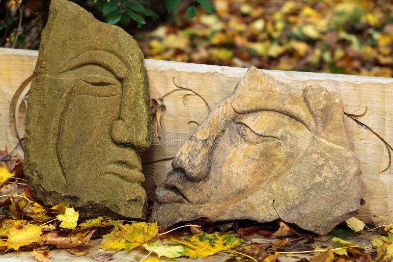 Figuras de pedra feéricas imagem de stock royalty free