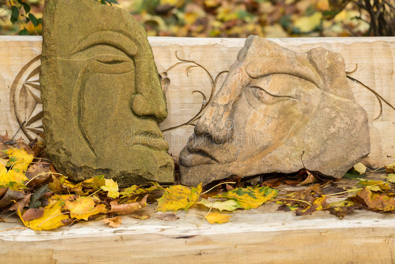 Figuras de pedra feéricas foto de stock royalty free
