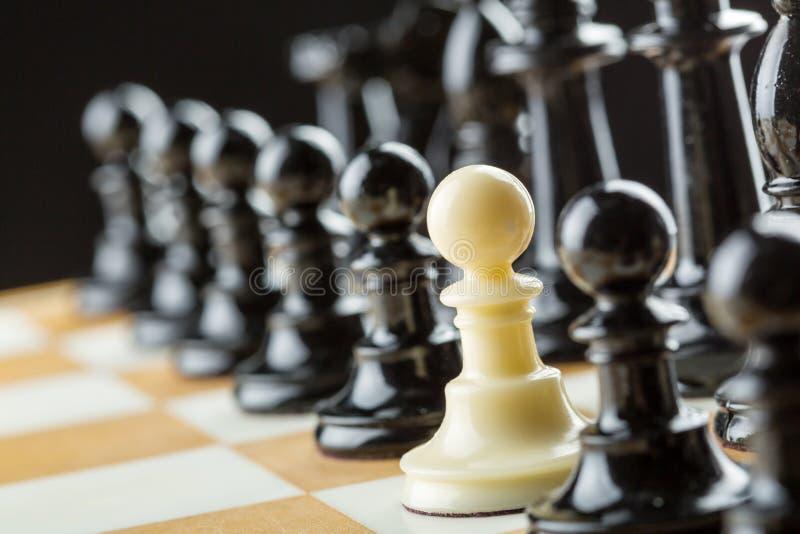 Figuras del ajedrez imagenes de archivo