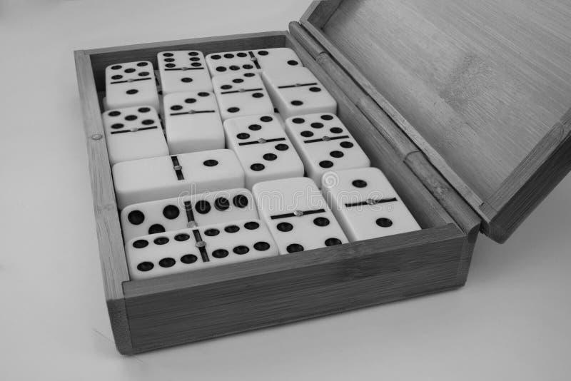 Figuras del dominó imágenes de archivo libres de regalías