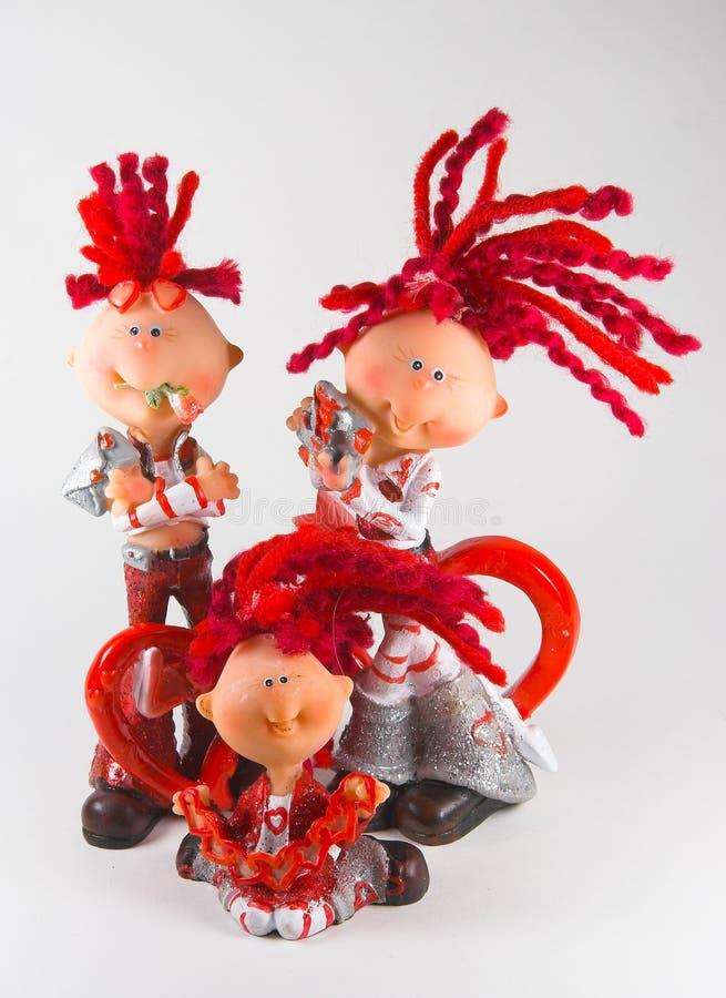 Download Figuras do brinquedo. foto de stock. Imagem de olhos, pares - 526746
