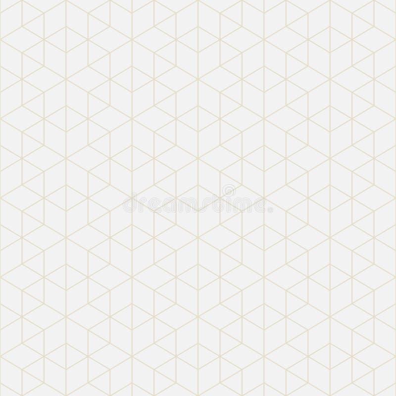 Figuras matemáticas Geométrico abstrato ilustração royalty free
