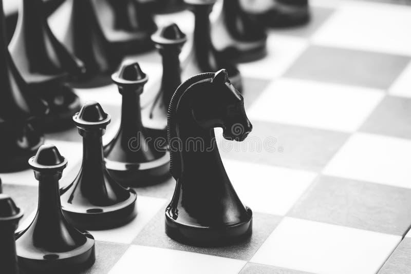 Figuras no tabuleiro de xadrez fotos de stock royalty free