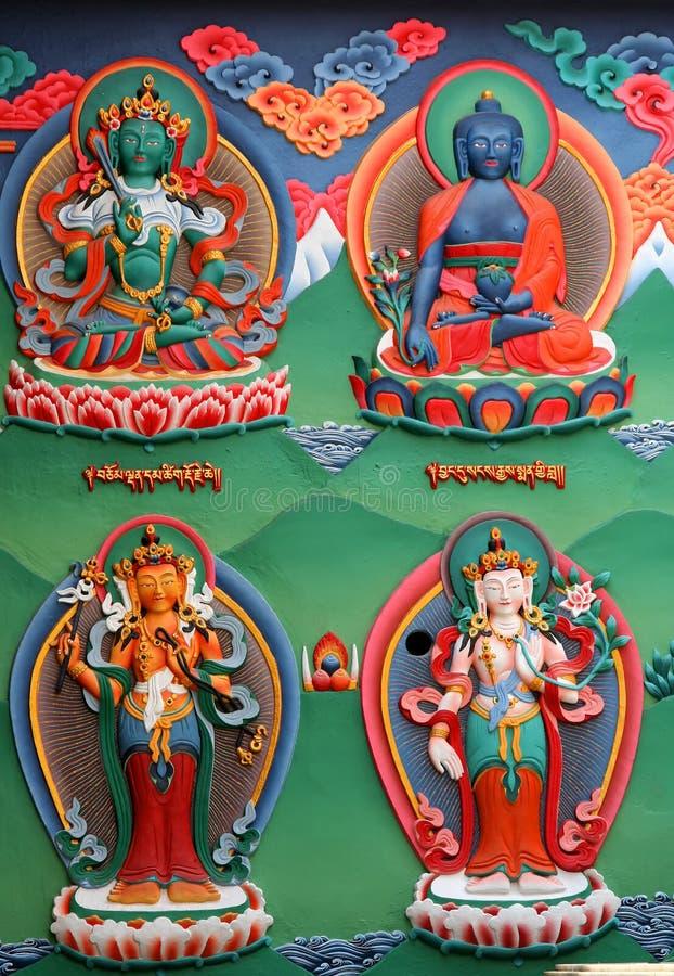 Figuras Religiosas Foto de Stock