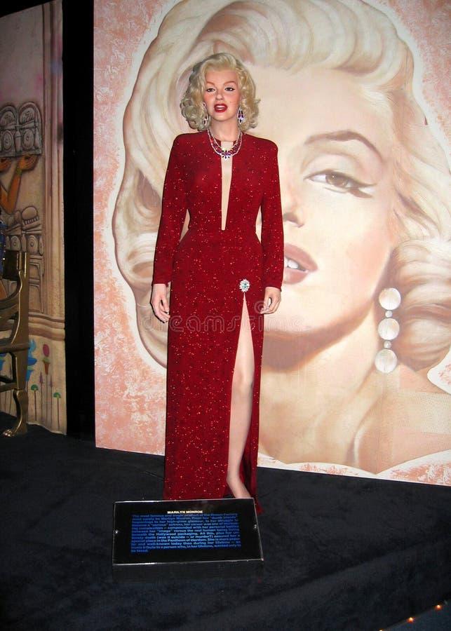 Figure de cire de Marilyn photo stock