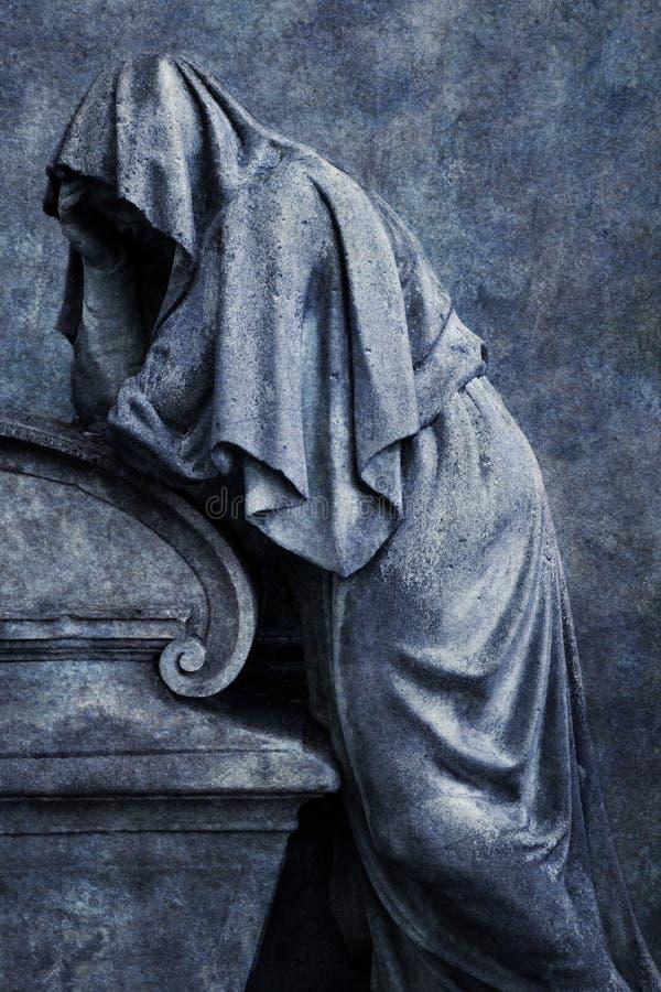 Figure de deuil images libres de droits
