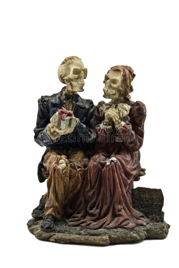 Figure degli scheletri immagini stock libere da diritti