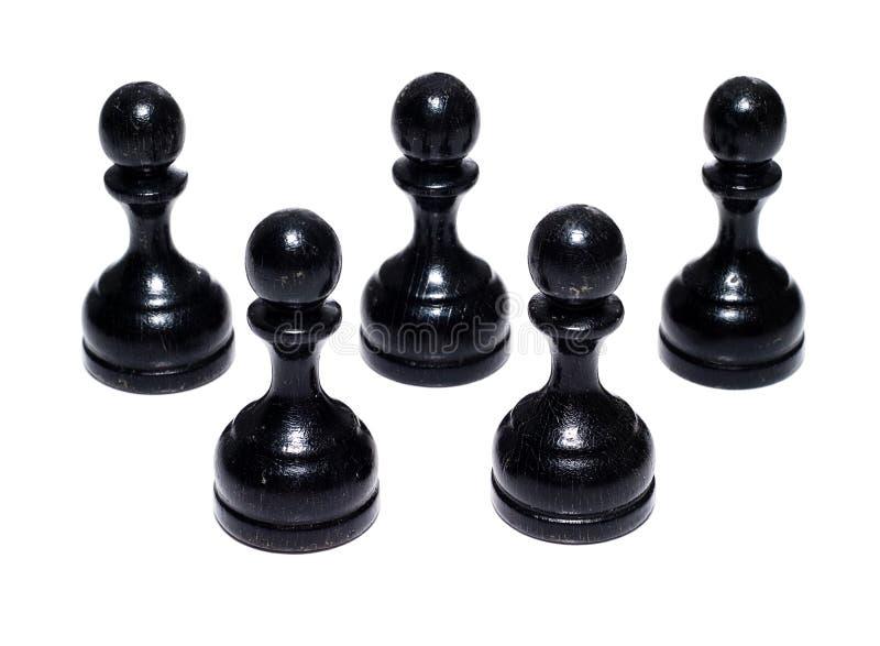 Figure di scacchi immagine stock libera da diritti