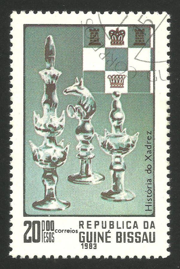 Figure di scacchi da vetro immagini stock libere da diritti