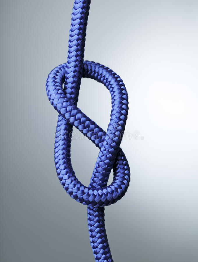 Figure Of Eight Knot Stock Photography