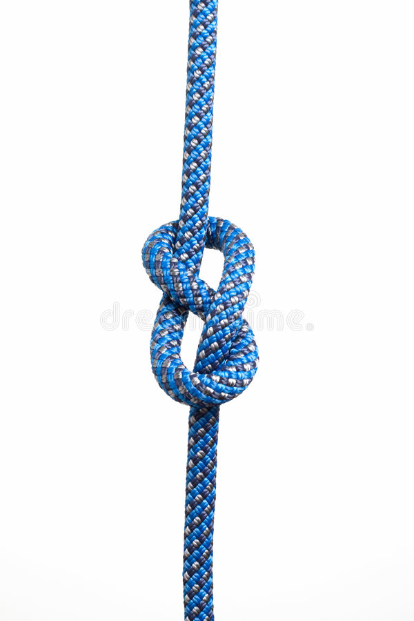 Download Figure eight knot stock image. Image of protection, mountaineering - 8570183