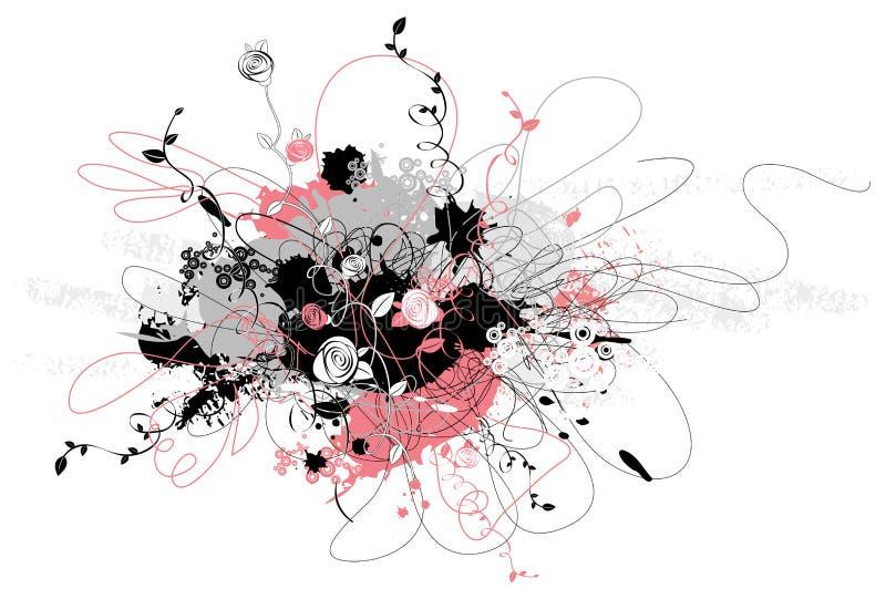 figure, fiore, vettore illustrazione vettoriale