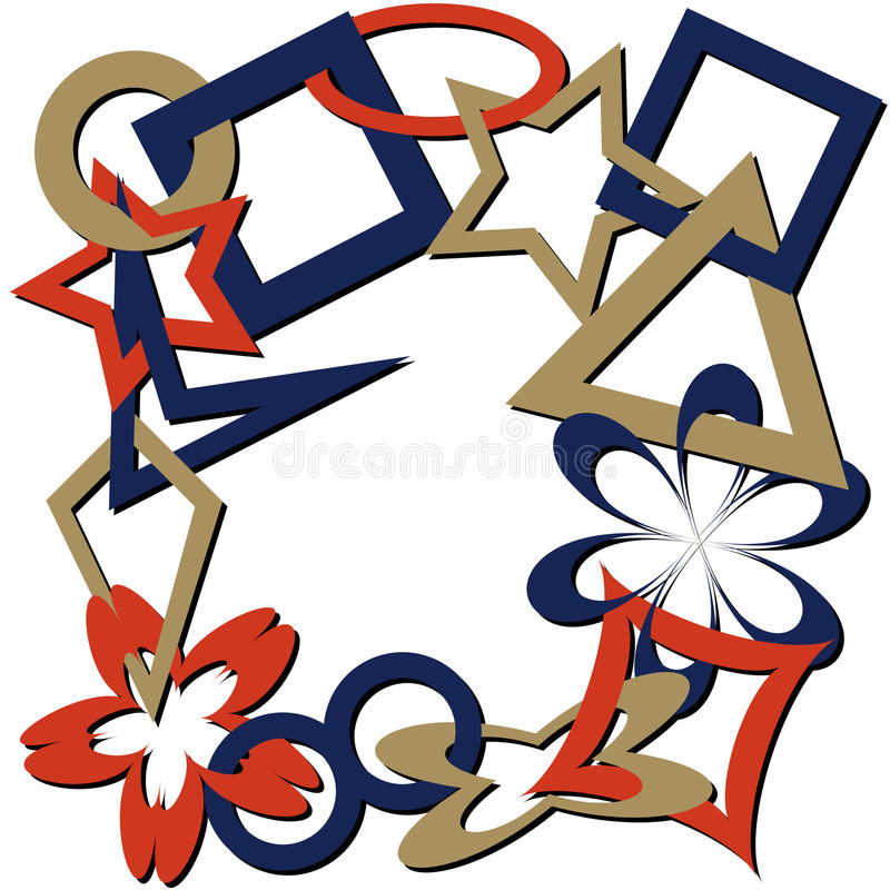 Figure geometriche 2 illustrazione vettoriale