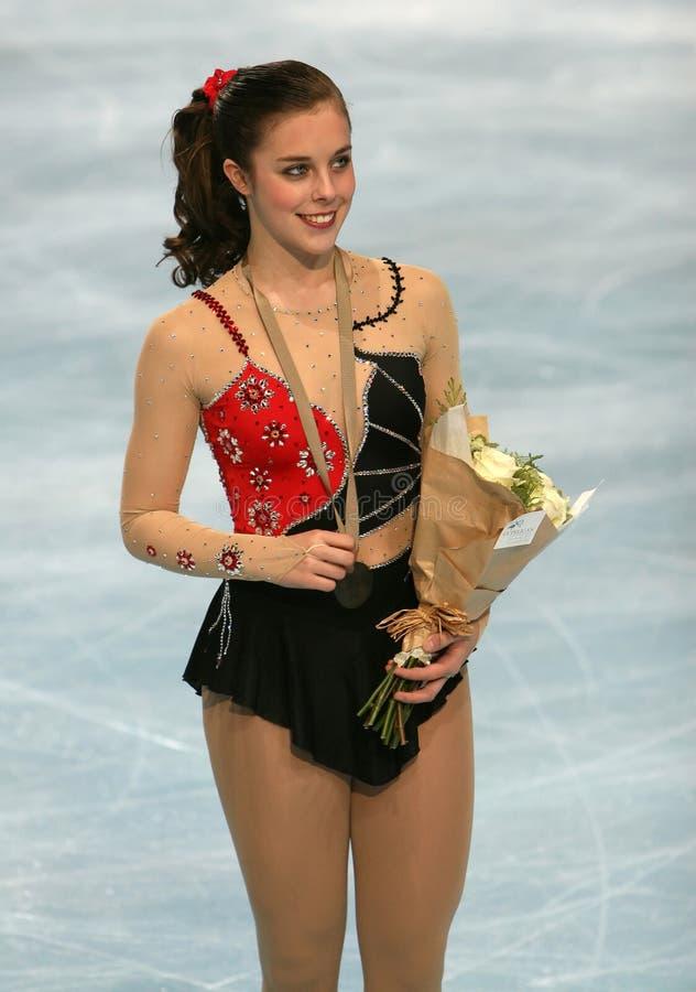 Figure patineur américaine Ashley   photographie stock libre de droits